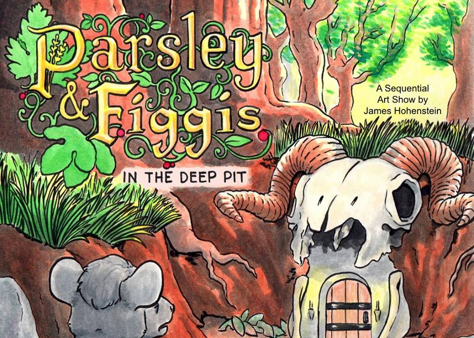 Parsley & Figgis: A Sequential Art Show by James Hohenstein