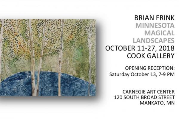 Exhibit: Minnesota Magical Landscapes by Brian Frink