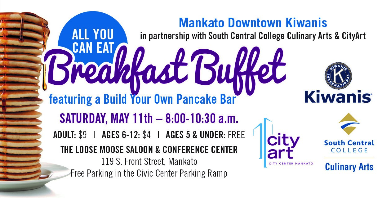 All You Can Eat Breakfast Buffet featuring a Build Your Own Pancake Bar