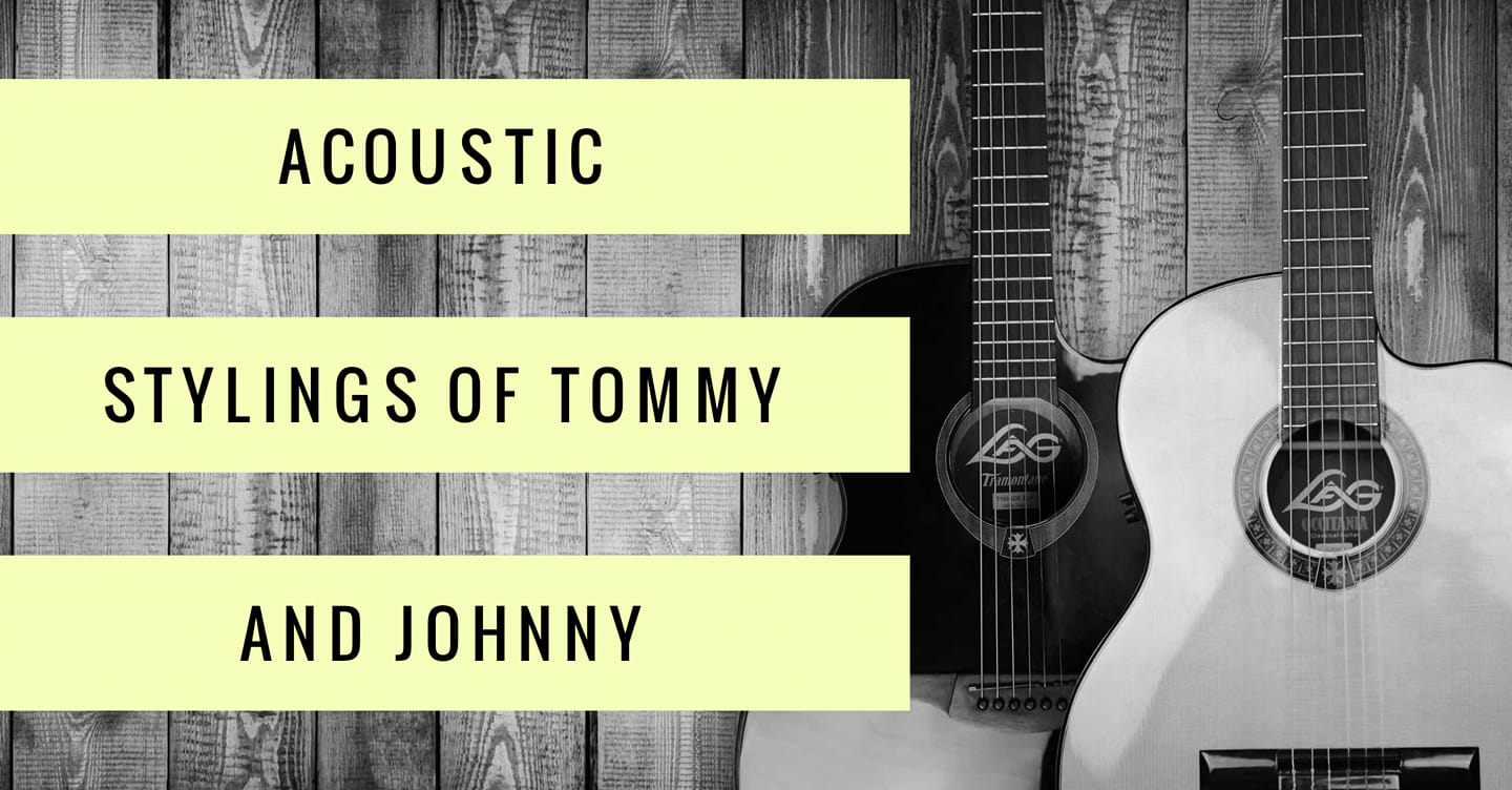 Acoustic Patio Session with Tommy and Johnny