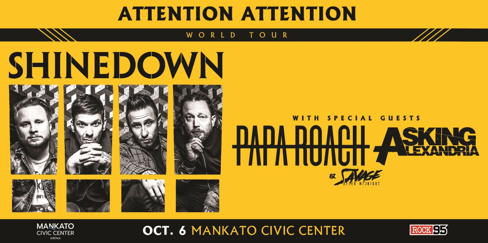 Shinedown's ATTENTION ATTENTION World Tour